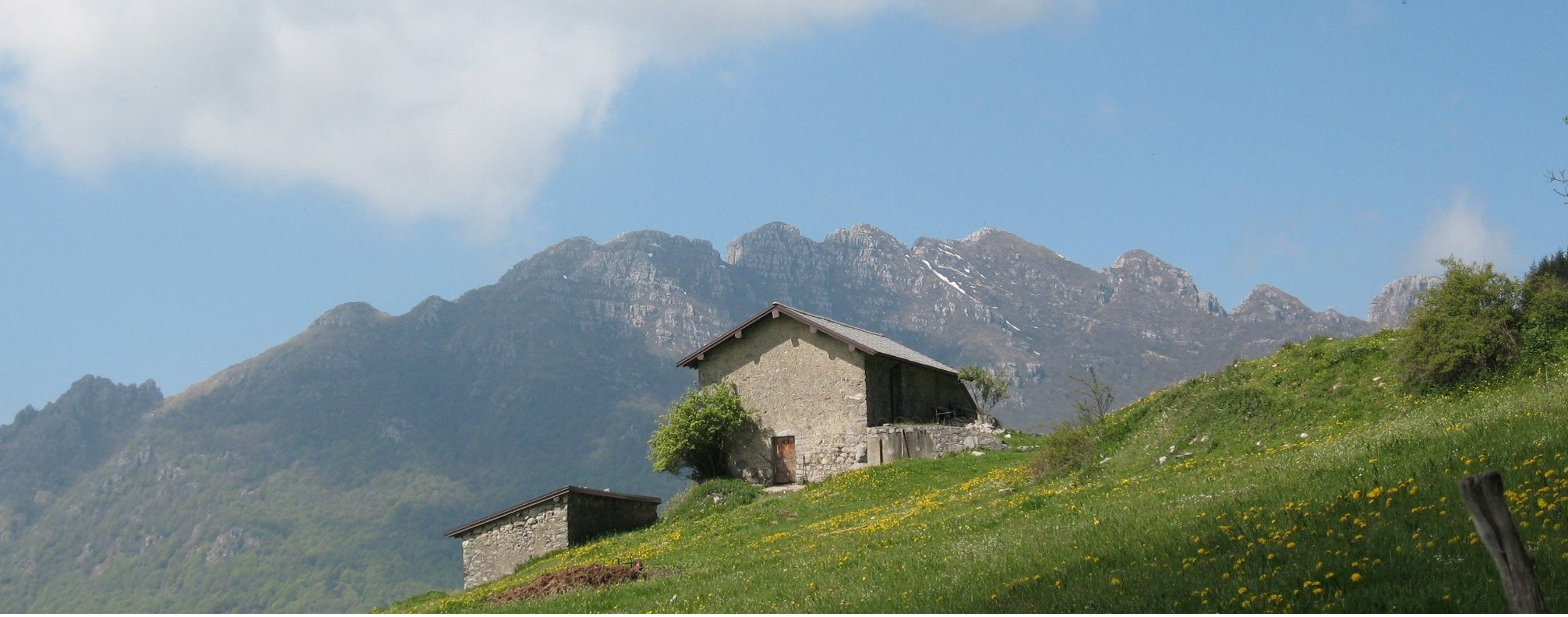 Il rifugio for Rifugio resegone valle imagna